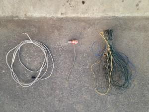 電熱線一式