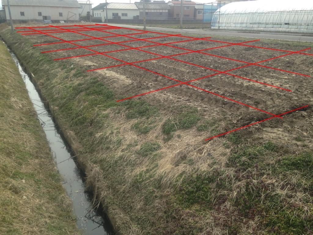 弾丸暗渠 排水対策
