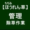 【寒締めほうれん草6】アージランでの除草作業(-言-)