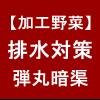 【加工野菜】排水対策①/弾丸暗渠(だんがんあんきょ) (´゚ω゚`)