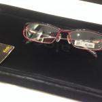 【メガネ】 ブルーライトカットのやつを買ったよ。(*゚Д゚)