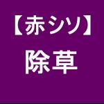 【赤シソ34】 除草作業/畦畔(けいはん)(´ω`)ノシ